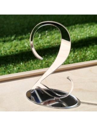 Сребърни огледални Номера...